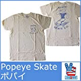 (ジャンクフード)JUNK FOOD Tシャツ ポパイ スケボー ジャンクフード 5071 メンズ 半袖 T シャツ マンガ キャラ アニメ 映画 JUNKFOOD MENS The Popeye Skate CO TEE PO213-7732 [並行輸入品]