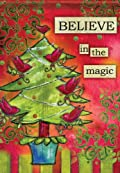 Believe in the Magic Garden Flag