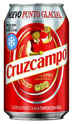 Cruzcampo - Cerveza - Lata 33 cl