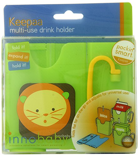 Innobaby Packin' SMART Keepaa Juice Box Holder, Lime