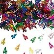 Bunt glitzerndes Konfetti mit Geburtstagszahl: 4 // T�te mit 15g (ca. 1000 einzelne Konfetti's) // Deko Tischdeko Jubil�um Zahlenkonfetti Metallkonfetti Streukonfetti vierter Geburtstag Birthday Kinder Kindergeburtstag