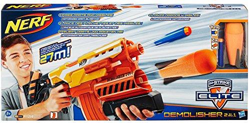 Hasbro A8494EU4 - Nerf N-Strike Elite 2-in-1 Demolisher