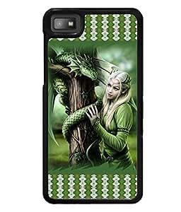 Fuson 2D Printed Girly Designer back case cover for Blackberry Z10 - D4142