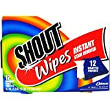 Shout Stain Remover Wipes-12 ct.