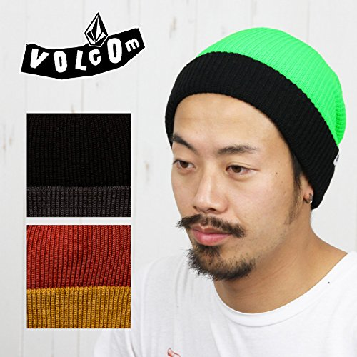 VOLCOM ボルコム メンズ 帽子 Two Tone Sweep ニット帽 ビーニー