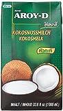 Aroy-D Kokosnussmilch, Fettgehalt: ca. 17%, 4er Pack (4 x 1 l Packung)