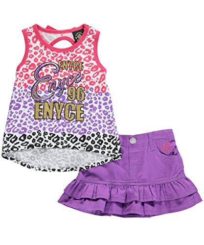 "Enyce Baby Girls' ""Animal Awesome"" 2-Piece Outfit"