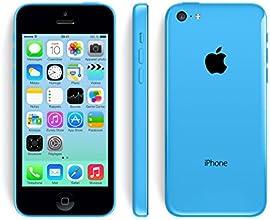 Apple Iphone 5C Smartphone débloqué 4G (Ecran: 4 pouces - 16 Go - Débloqué - iOS) Bleu (Reconditionné Certifié Grade A+)