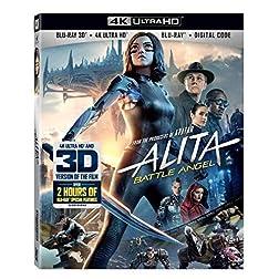 Alita: Battle Angel [4K Ultra HD + Blu-ray]
