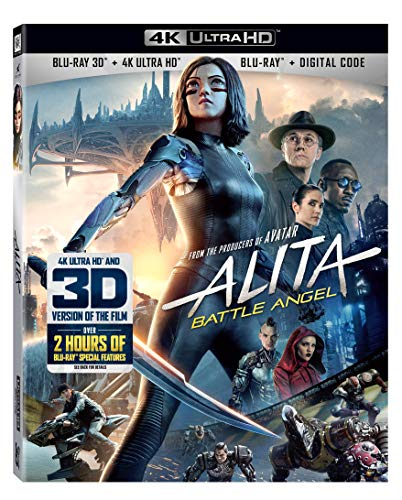 4K Blu-ray : Alita: Battle Angel (3 Discos)