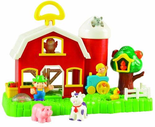 Small World Toys Preschool - Big Fun Activity Barn B/O - 1