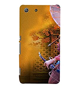 Ebby Premium Printed Mobile Back Case Cover With Full protection For Sony Xperia M5 (Designer Case)