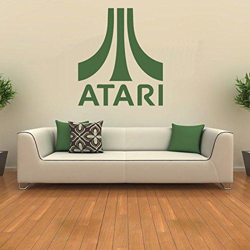 atari-wall-sticker-gaming-adesivo-art-disponibile-in-5-dimensioni-e-25-colori-medio-verde-foglia