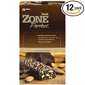 sale Zone Perfect Dark Chocolate Nutrition Bars 12 ea
