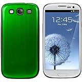 kwmobile® Akku-Deckel aus gebürsteten Aluminium für das Samsung Galaxy S3 i9300 / S3 Neo i9301, Grün