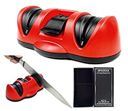 HPK INDIA DUAL KITCHEN KNIFE SHARPENER WITH SUCTION PAD