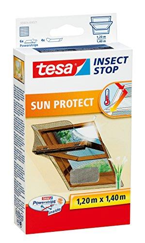 tesa fliegengitter mit sonnenschutz fallen insektenabwehr preisvergleich fenster t r. Black Bedroom Furniture Sets. Home Design Ideas