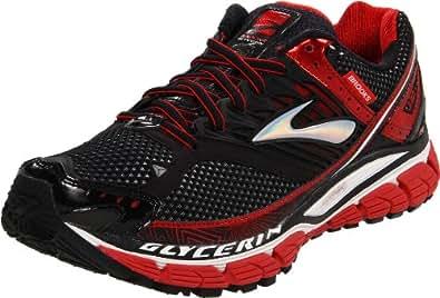 Brooks Glycerin10 M 1101181D696, Herren Sportschuhe - Running, Schwarz (Red/Black/Silver), 46 EU / 11 UK