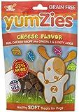 Nootie Yumzies Grain Free Cheese Flavor Natural Chicken Treats, 8oz.