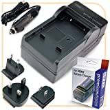 PremiumDigital Replacement Sony NP-QM70, NP-QM71D, NP-QM90, NP-QM91D Battery Charger
