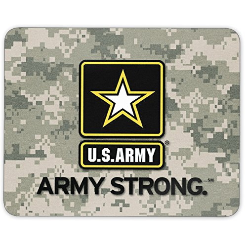 Mouse Pad - US Army/ Army Strong Full Color Anti-Slip Rubber Backed Mousepad