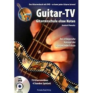 eBook Cover für  Guitar TV Gitarrenschule ohne Noten Das Gitarrenbuch mit DVD So kann jeder Gitarre lernen