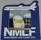 水樹奈々 【LIVE FLIGHT 2014】 ピンズ 神奈川会場限定B