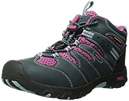 KEEN Koven Mid WP Hiking Boot (Toddler/Little Kid), Midnight Navy/Dahlia Mauve, 13 M US Little Kid