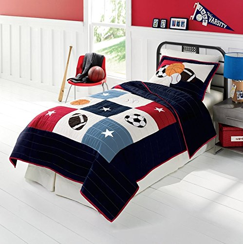 Kids Sports Bedding For Boys front-40720