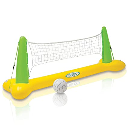 """Intex Pool Volleyball Game, 94"""" X 25"""" X 36"""", for Ages 6+"""