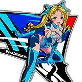 ハチプロデザイン HPS-002B 新☆スズキたん ブルー Sサイズ 左右セット ステッカー デカール