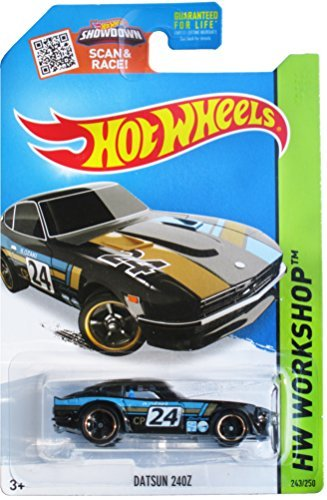 Hot Wheels 2015 HW Workshop Datsun 240Z  Collector No. 243/250 (2015 Hot Wheels Datsun compare prices)