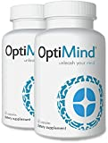 OptiMind Premium Nootropic Supplement Brain Booster - Supports Concentration, Focus, and More - Best Brain Supplement With Synapsa Bacopa, and Vinpocetine