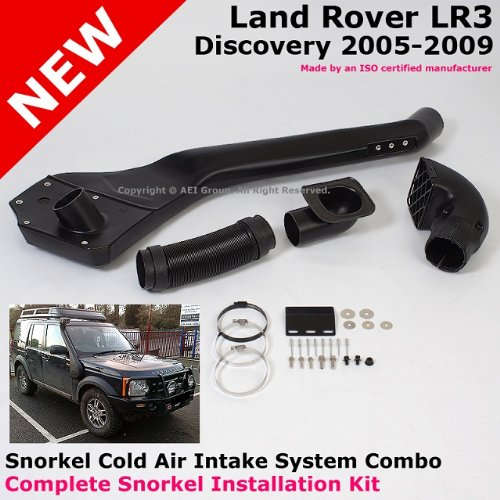 2005 To 2009 Land Rover Discovery Lr3 05-09 High Mounted Snorkel Cold Air Ram Intake System