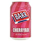 Barr Cherryade 330ml (Pack of 24 x 330ml)