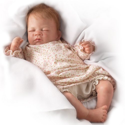 Waltraud Hanl Hush, Little Baby Collectible Lifelike Baby Girl Doll: So Truly Real - 18