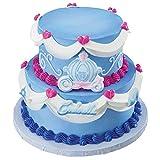 Disney-cinderella Edible Sugar Cake Topper Decoset