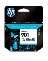 HP - CC656AE UUS - 901 Cartouche d'encre d'Origine 1 x Couleur (Cyan / Magenta / Jaune) 360 pages