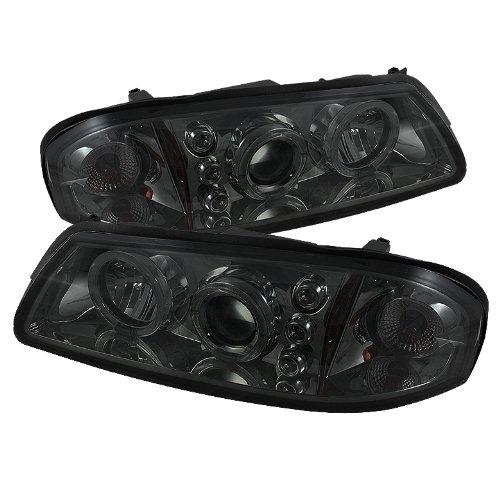 Spyder Auto Pro-Zo-Chip00-Led-Sm Chevy Impala Smoke Halo Led Projector Headlight