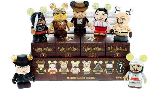 "Indiana Jones Series 1 ONE UNOPENED Mystery Box Disney Vinylmation 3"" inch Figure - 1"