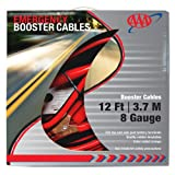AAA 4324AAA Medium Duty 12 8 Gauge Booster Cable