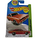Hot Wheels 2014 Hw Workshop Muscle Mania Red 1974 Brazilian Dodge Charger 240/250