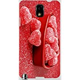 Wonderful Multicolor Printed Protective REBEL Mobile Back Cover For Samsung Galaxy Note 3 / N9000 / N9002 D.No.N-R...
