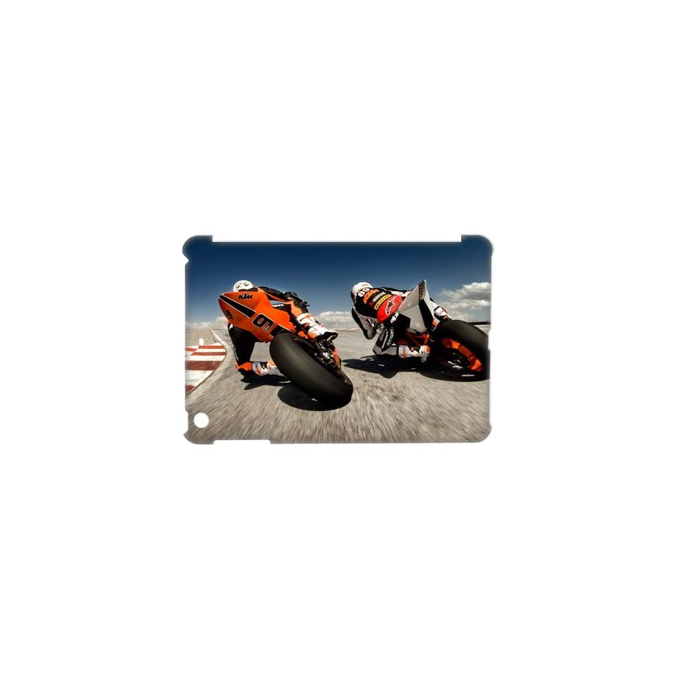 DIY Cover Freestyle Dirt Bike Phone Cover Case KTM Excite Bike for iPad Mini DIY Cover 10518