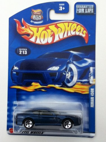 Hot Wheels Ferrari 456M 2002 213 35th Anniversay Collection Variant Card - 1