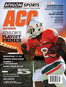 Buy Athlon Sports 2014 College Football ACC Preview Magazine- Miami Hurricanes Cover by Athlon Sports