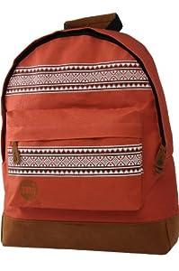 Mi-Pac Textile Rucksack Nordic Brick - Red