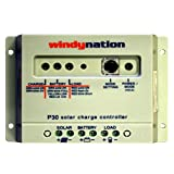WindyNation P30 30A Solar Panel Regulator Charge Controller 12V 24V 390W 780W