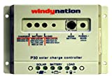 WindyNation P30 30A Solar Panel Regulator Charge Controller...