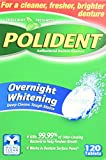 Polident Antibacterial Overnight Denture Cleanser Triplemint -- 120 Tablets